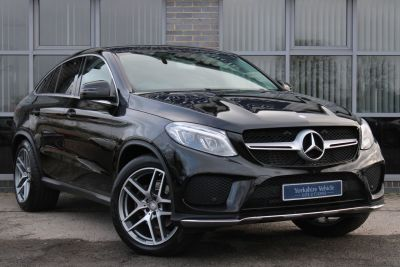 Mercedes-Benz GLE Coupe 3.0 GLE 350d 4Matic AMG Line 5dr 9G-Tronic Coupe Diesel Black at Yorkshire Vehicle Solutions York