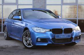 BMW 3 Series 3.0 335d M Sport Auto xDrive Auto 4dr Saloon Diesel Blue at Yorkshire Vehicle Solutions York