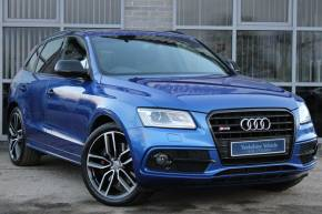Audi SQ5 3.0 SQ5 Plus Quattro 5dr Tip Auto Estate Diesel BLUE at Yorkshire Vehicle Solutions York