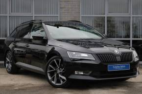 Skoda Superb 2.0 TDI CR Sport Line 5dr DSG [7 Speed] Estate Diesel Black at Yorkshire Vehicle Solutions York