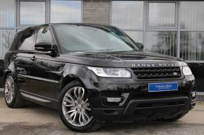 Land Rover Range Rover Sport 3.0 SDV6 HSE Dynamic 5dr Auto Estate Diesel BLACK at Yorkshire Vehicle Solutions York