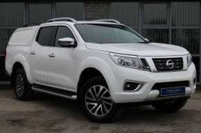 Nissan Navara 2.3 dCi 190 Tekna Double Cab 4WD Auto Pick Up Diesel White at Yorkshire Vehicle Solutions York