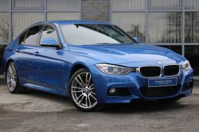 BMW 3 Series 3.0 335d xDrive M Sport 4dr Step Auto Saloon Diesel BLUE at Yorkshire Vehicle Solutions York