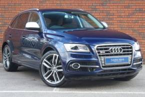 Audi SQ5 3.0 SQ5 Quattro 5dr Tip Auto Estate Diesel Blue at Yorkshire Vehicle Solutions York