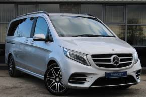 Mercedes-Benz V Class 2.1 V250 d AMG Line 5dr Auto [Long] MPV Diesel SILVER at Yorkshire Vehicle Solutions York