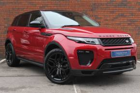 Land Rover Range Rover Evoque 2.0 TD4 HSE Dynamic 5dr Auto Estate Diesel RED at Yorkshire Vehicle Solutions York