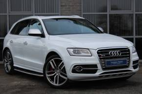 Audi SQ5 3.0 BiTDi Quattro 5dr Tip Auto Estate Diesel White at Yorkshire Vehicle Solutions York
