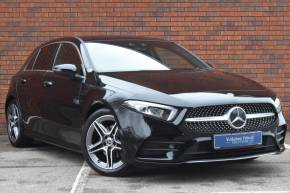 Mercedes-Benz A Class 1.3 A200 AMG Line Premium 5dr Auto Hatchback Petrol Black at Yorkshire Vehicle Solutions York