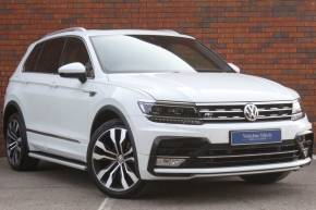 Volkswagen Tiguan 2.0 TDi 150 R Line 5dr Estate Diesel White at Yorkshire Vehicle Solutions York
