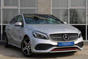 Mercedes-Benz A Class 2.0 A250 AMG (Premium) 7G-DCT 5Dr Hatchback Petrol Silver at Yorkshire Vehicle Solutions York