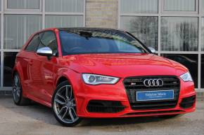 Audi S3 2.0 S3 TFSI Quattro 3dr Hatchback Petrol Red at Yorkshire Vehicle Solutions York