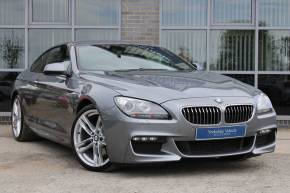 BMW 6 Series 3.0 640d M Sport 2dr Auto Coupe Diesel Grey at Yorkshire Vehicle Solutions York