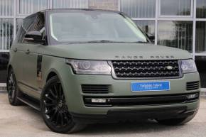 Land Rover Range Rover 4.4 SDV8 Autobiography 4dr Auto Estate Diesel Green at Yorkshire Vehicle Solutions York