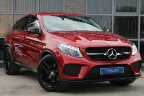 Mercedes-Benz GLE Coupe 3.0 GLE 350d 4Matic AMG Line 5dr 9G-Tronic Coupe Diesel Red at Yorkshire Vehicle Solutions York