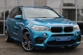 BMW X5 M 4.4 BiTurbo Auto xDrive 5dr (5 Seat) SUV Petrol Blue at Yorkshire Vehicle Solutions York