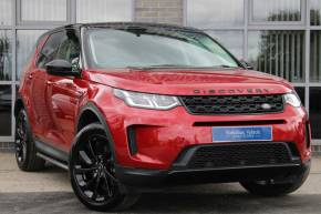 Land Rover Discovery Sport 2.0 D180 S 5dr Auto Estate Diesel Red at Yorkshire Vehicle Solutions York