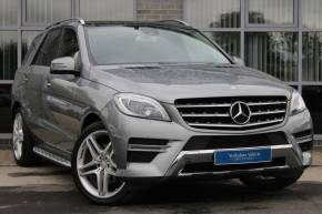 Mercedes-Benz M Class 3.0 ML350 CDI BlueTEC AMG Line (Premium) 7G-Tronic Plus 4MATIC 5dr SUV Diesel Silver at Yorkshire Vehicle Solutions York