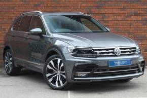 Volkswagen Tiguan 2.0 TSi 180 4Motion R Line 5dr DSG Estate Petrol Grey at Yorkshire Vehicle Solutions York