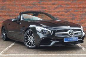 Mercedes-Benz SL Class 4.7 SL 500 AMG Line 2dr 9G-Tronic Convertible Petrol Black at Yorkshire Vehicle Solutions York
