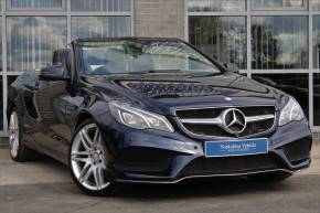Mercedes-Benz E Class 3.0 E350 CDI BlueTEC AMG Sport 2dr 7G-Tronic Convertible Diesel Blue at Yorkshire Vehicle Solutions York