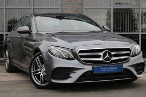 Mercedes-Benz E Class 2.0 E220d AMG Line (Premium) G-Tronic+ 4dr Saloon Diesel Grey at Yorkshire Vehicle Solutions York