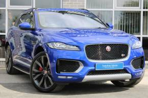 Jaguar F-pace 3.0d V6 1st Edition 5dr Auto AWD Estate Diesel Blue at Yorkshire Vehicle Solutions York