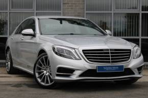 Mercedes-Benz S Class 3.0 S350 BlueTEC AMG Line 4dr Auto Saloon Diesel Silver at Yorkshire Vehicle Solutions York