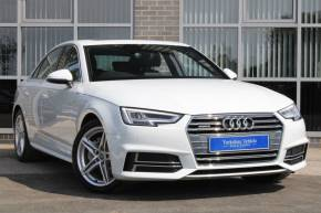Audi A4 2.0 TDI 190 Quattro S Line 4dr S Tronic Saloon Diesel White at Yorkshire Vehicle Solutions York