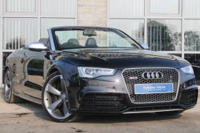 Audi RS5 4.2 FSI Quattro 2dr S Tronic Convertible Petrol Black at Yorkshire Vehicle Solutions York