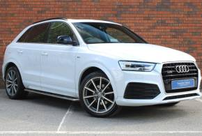 Audi Q3 2.0 TDI [184] Quattro S Line Plus 5dr S Tronic Estate Diesel White at Yorkshire Vehicle Solutions York