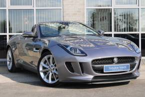 Jaguar F-type 3.0 V6 Quickshift 2dr Auto Convertible Petrol Grey at Yorkshire Vehicle Solutions York