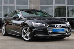 Audi A5 2.0 TFSI S Line 2dr S Tronic Coupe Petrol Black at Yorkshire Vehicle Solutions York