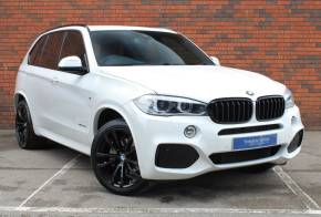 BMW X5 3.0 xDrive40d M Sport 5dr Auto Estate Diesel White at Yorkshire Vehicle Solutions York