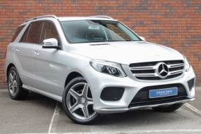 Mercedes-Benz GLE Class 3.0 GLE 350d 4Matic AMG Line 5dr 9G-Tronic Estate Diesel Silver at Yorkshire Vehicle Solutions York