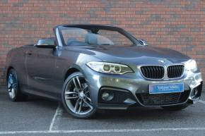 BMW 2 Series 2.0 220D M SPORT AUTO Convertible Diesel Grey at Yorkshire Vehicle Solutions York