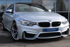 BMW M4 3.0 M4 2dr DCT Coupe Petrol Blue at Yorkshire Vehicle Solutions York
