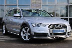 Audi A6 Allroad 3.0 TDI [218] Quattro 5dr S Tronic Estate Diesel Silver at Yorkshire Vehicle Solutions York