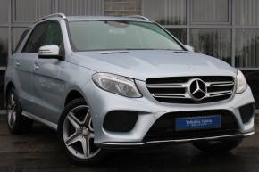 Mercedes-Benz GLE Class 2.1 GLE 250d 4Matic AMG Line 5dr 9G-Tronic Estate Diesel Silver at Yorkshire Vehicle Solutions York