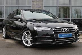 Audi A6 2.0 TDI Ultra S Line 4dr Saloon Diesel Black at Yorkshire Vehicle Solutions York