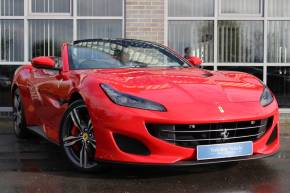 Ferrari Portofino 3.8T V8 F1 DCT Convertible Petrol Red at Yorkshire Vehicle Solutions York