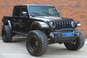 Jeep Wrangler Gladiator Rubicon 3.6 V6 Pick Up Petrol Black at Yorkshire Vehicle Solutions York