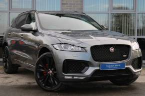 Jaguar F-pace 3.0d V6 S 5dr Auto AWD Estate Diesel Grey at Yorkshire Vehicle Solutions York