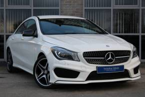 Mercedes-Benz Cla Class 1.6 CLA 180 AMG Sport 4dr Saloon Petrol White at Yorkshire Vehicle Solutions York