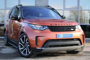 Land Rover Discovery 3.0 SDV6 306 HSE Commercial Auto Panel Van Diesel Orange at Yorkshire Vehicle Solutions York