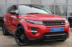 Land Rover Range Rover Evoque 2.2 SD4 Dynamic AWD Auto 5dr Estate Diesel Red at Yorkshire Vehicle Solutions York