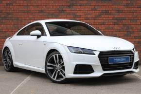 Audi TT 2.0 TDI Ultra S Line 2dr Coupe Diesel White at Yorkshire Vehicle Solutions York