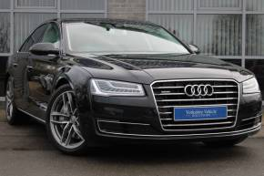 Audi A8 4.2 TDI Sport Executive Tiptronic quattro 4dr Saloon Diesel Black at Yorkshire Vehicle Solutions York