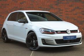 Volkswagen Golf 2.0 TSI GTI 5dr DSG Hatchback Petrol White at Yorkshire Vehicle Solutions York