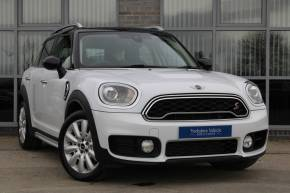 Mini Countryman 2.0 Cooper S 5dr Auto Hatchback Petrol White at Yorkshire Vehicle Solutions York