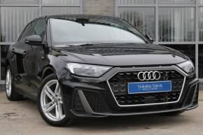 Audi A1 1.0 30 TFSI S Line 5dr Hatchback Petrol Black at Yorkshire Vehicle Solutions York